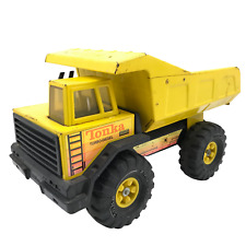Tonka Mighty Dump Turbo-Diesel Pressed Steel XMB-975 Vintage Tonka Truck