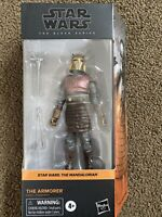 "Star Wars The Armorer Mandalorian Black Series 6"" Action Figure IN HAND"