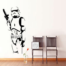 Star Wars Stormtrooper Mural Wall Art Sticker PVC Decals Kids Boys Room Decor