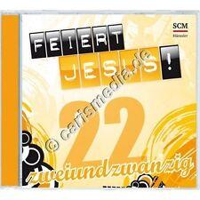 CD: FEIERT JESUS! 22 - Worship - Anbetung - 09/2016 - deutscher Lobpreis *NEU*