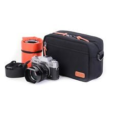 Black Small camera bag Water-Resistant MILC DSLR Bag Case sony  A7 sony gopro