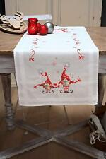 Vervaco - Cross Stitch Kit - Table Runner - Christmas Gnomes - PN-0158304