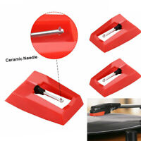 3Pcs New Replace Diamond Stylus Record Player Needle For LP Turntable Phonograph
