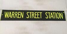 """West London Bus Blind 48 42""""- Warren Street Station"""