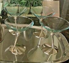 New listing Beefeater Martini Glassware (4 ea.) Silver Base