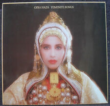 LP 33T. 30cm**OFRA HAZA**Yemenite Songs