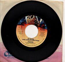 RUBICON disco 45 giri  I'M GONNA TAKE CARE OF EVERYTHING stampa AMERICANA 1977