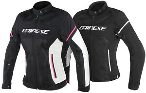 Dainese Air Frame D1 Women's Motorcycle Jacket Airy Summer Touring Jacket Short