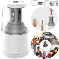 Electric Pencil Sharpener Automatic Touch Switch Heavy Duty Blade Office Tool