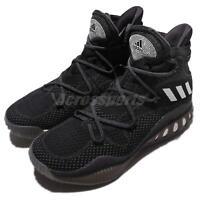 adidas Crazy Explosive Primeknit Boost Black White Mens Basketball Shoes B42404