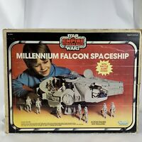 Star Wars The Empire Strikes Back Millenium Falcon Spaceship Playset BOX ONLY