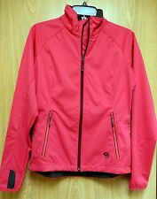 NEW Mountain Hardwear Anselmo Air Shield Soft Shell Active Jacket Womens S Pink