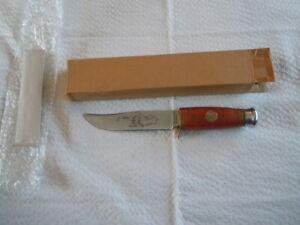 Buffalo Bill Fixed Blade Hunting Knife