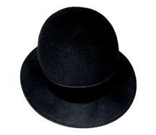 Vintage Amanda Smith Hat Black with Bow 100% Wool Size 7 3/8 Italy