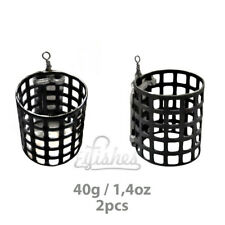 2pcs Carp Basket Fishing Feeder 40g /1.4oz Method Coarse Bait Fishing Tackle