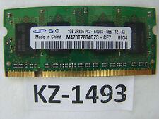 1GB. Samsung M470T2864QZ3-CF7 DDR2 800MHZ. PC 2-6400 CL6. SO-DIMM-200pin#KZ-1493