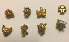 MOSHI MONSTERS GOLD COLLECTION TIN SERIES 1 with gold 8 MOSHLINGS USED