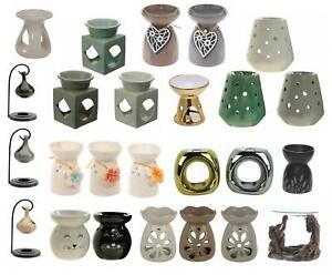 Ceramic Wax Melt Oil Burner Tealight Holder Ornament Gift - Multiple Designs