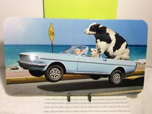 AVANTI PRESS HAPPY BIRTHDAY GREETING CARD Cow/Pig New with Envelope LARGE CARD
