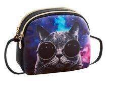 Small PU Cat Sunglasses Messenger Bag