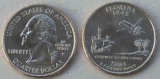 USA State Quarter 2004 Florida D unz.