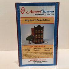 Ameri-Towne O Scale #873 Burke Building Model Kit Rr Trains