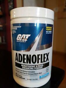 GAT SPORT Adenoflex Hematogenic Mass Enhancing Powder 30 Servings Blue Raspberry
