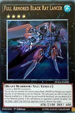 x1 Full Armored Black Ray Lancer - DUSA-EN008 - Ultra Rare - 1st Edition Yu-Gi-O