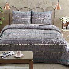 VHC brands quilt bedding- PETTICOAT -- TWIN QUEEN KING