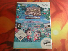 ANIMAL CROSSING LET'S GO TO THE CITY NINTENDO WII WIIU