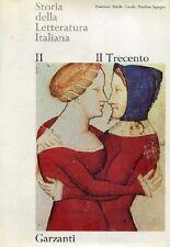 SAPEGNO, CECCHI - Storia della Letteratura Italiana Opera completa Garzanti 196