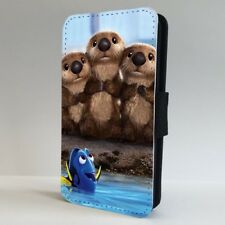 Disney Finding Dory Cute Otters FLIP PHONE CASE COVER for IPHONE SAMSUNG