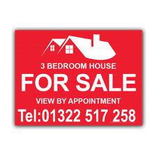 House For Sale Correx Sign Boards Estate Agent Property Signs X 2 (CORCP00068)
