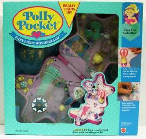 Vintage 1994 Polly Pocket Fairy Light Wonderland Playset. New in Box, No Reserve
