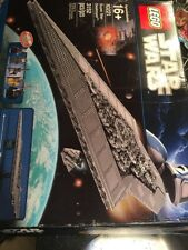 LEGO Star Wars Super Star Destroyer 10221 New Open Box All Contents Sealed Boxes