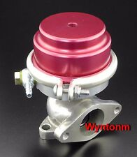 38MM External Wastegate 10 PSI Turbo Stainless Steel Dump Valve Red C II
