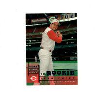 1998 Leaf Rookies & Stars True Blue Sean Casey Parallel RC! REDS 1b RARE!