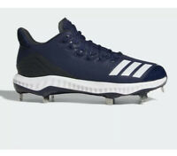 New ADIDAS BOOST ICON Bounce Metal Baseball Cleats Navy/White Men Size 12 CG5151