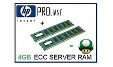 4gb (2x2gb) memoria ECC RAM Di Aggiornamento per l'HP ProLiant ml310 g5/g5p Server