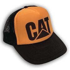 Cat Tractors Trucker Hat Old Caterpillar Logo! Vintage Style Snapback Cap! 2169