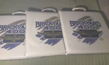 Brickyard 400 Indianapolis Motor Speedway 3 Padded Seat Cushions 1994 Official