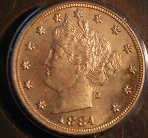 1884 PCGS PR 64 Proof Liberty Nickel