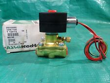 "New ASCO Red Hat 2-way Pneumatic Solenoid Valve 3/8"" 3/8in 120/60, 110/50"