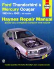 Ford Tbird & Mercury Cougar '83'88 (Haynes Repair Manuals), Haynes, John