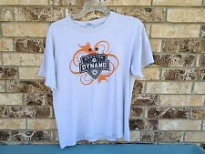 Houston Dynamo Dynamos Forever Orange Tshirt 08 Size Large Mls Soccer Football