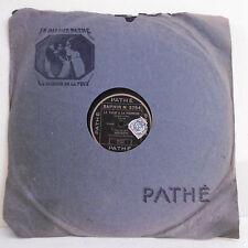 78T SAPHIR - JOVATTI  Disque Phonographe VALSE VIENNOISE Chanté PATHE 3754 RARE