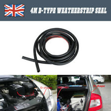 4M Universal Large Car Door Rubber EDGE DOOR SEAL Weatherstrip SUV Large D-Type