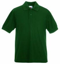 Magliette da uomo a manica corta verde Fruit of the Loom