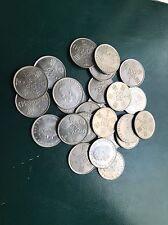 Lote 25 Monedas 100 Pesetas 1980 *80 Varias Cálidades España Spain Mundial 82