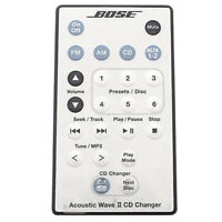 (Defective) Bose-Acoustic Wave II CD Changer Remote Control White Original